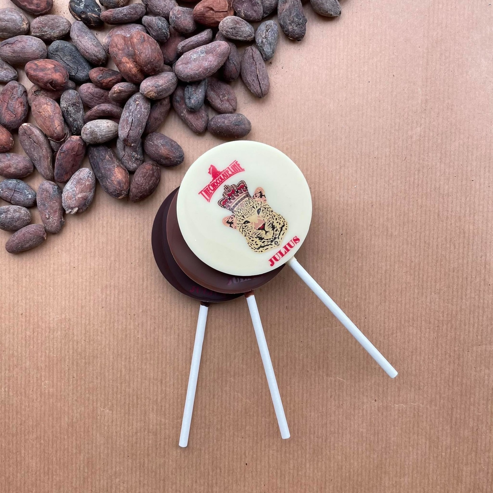 Chocolate Lolly Stick - The Chocolate Line