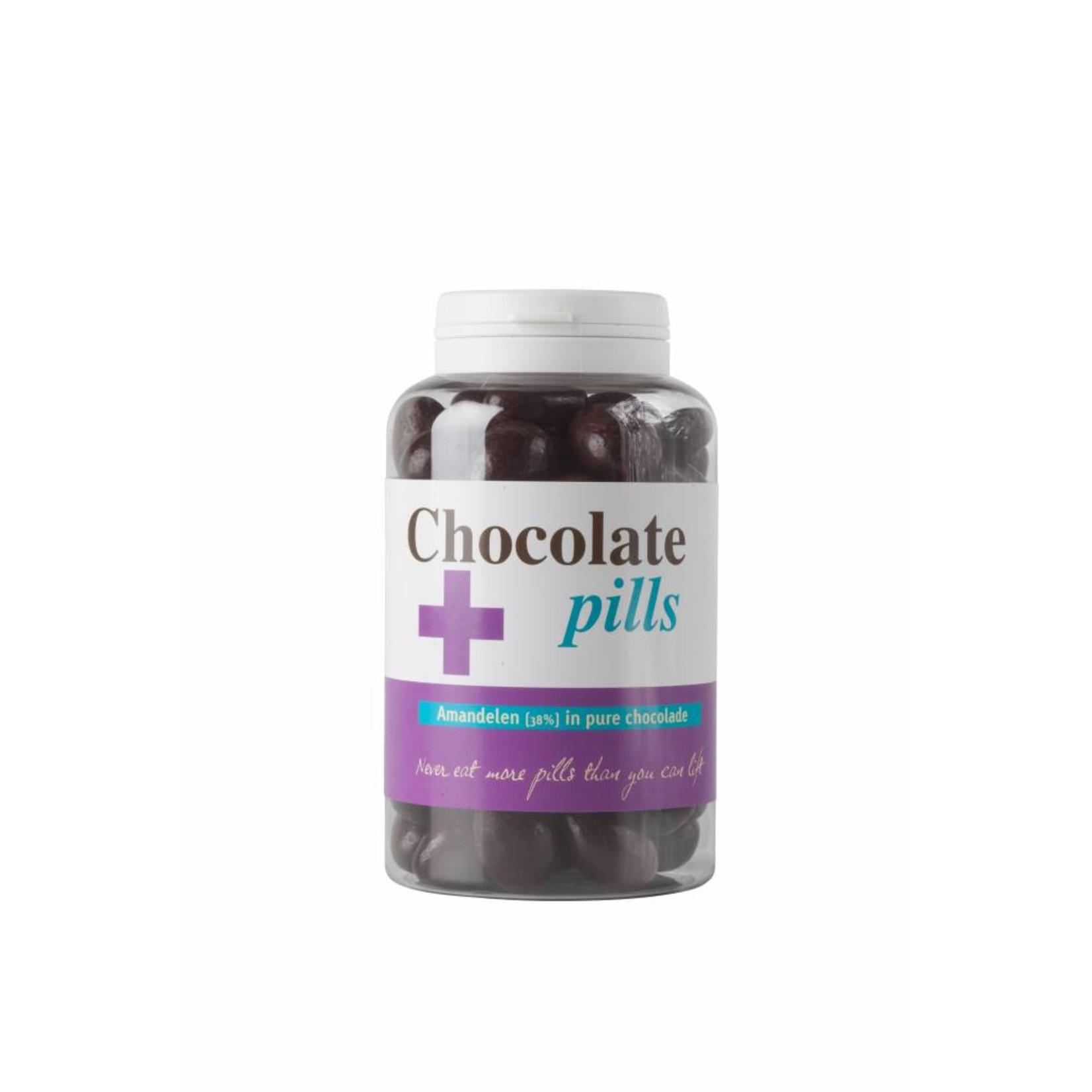 Chocoladepillen met amandelen