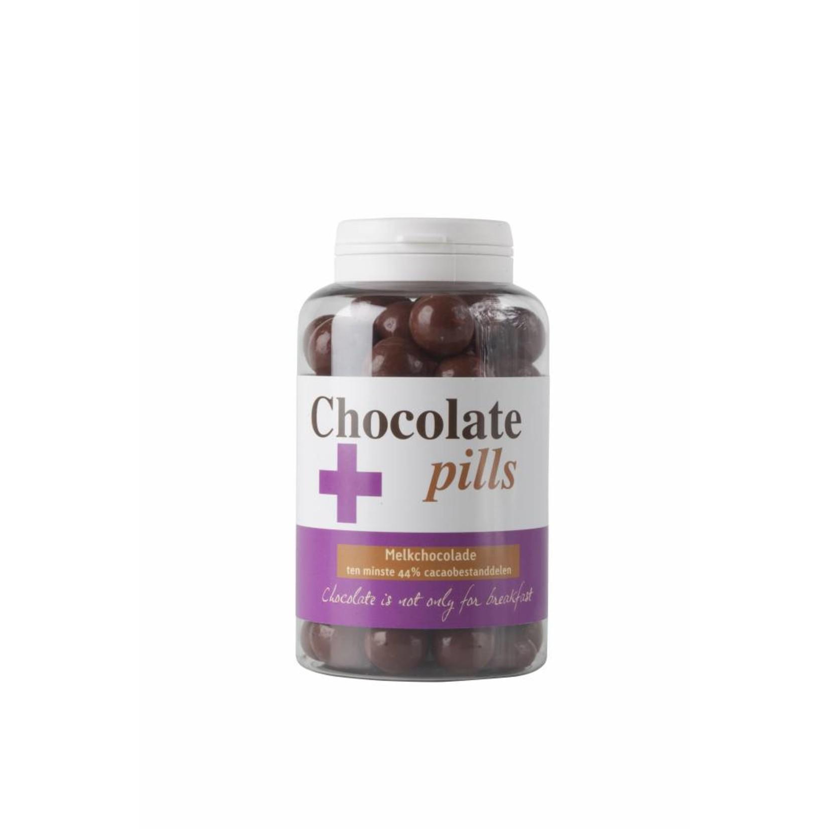 Chocoladepillen met melkchocolade