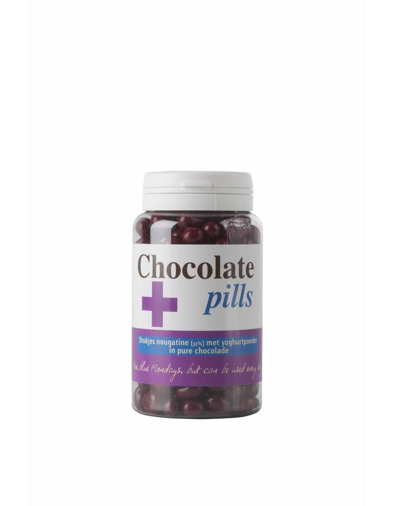 Chocoladepillen met nougatine