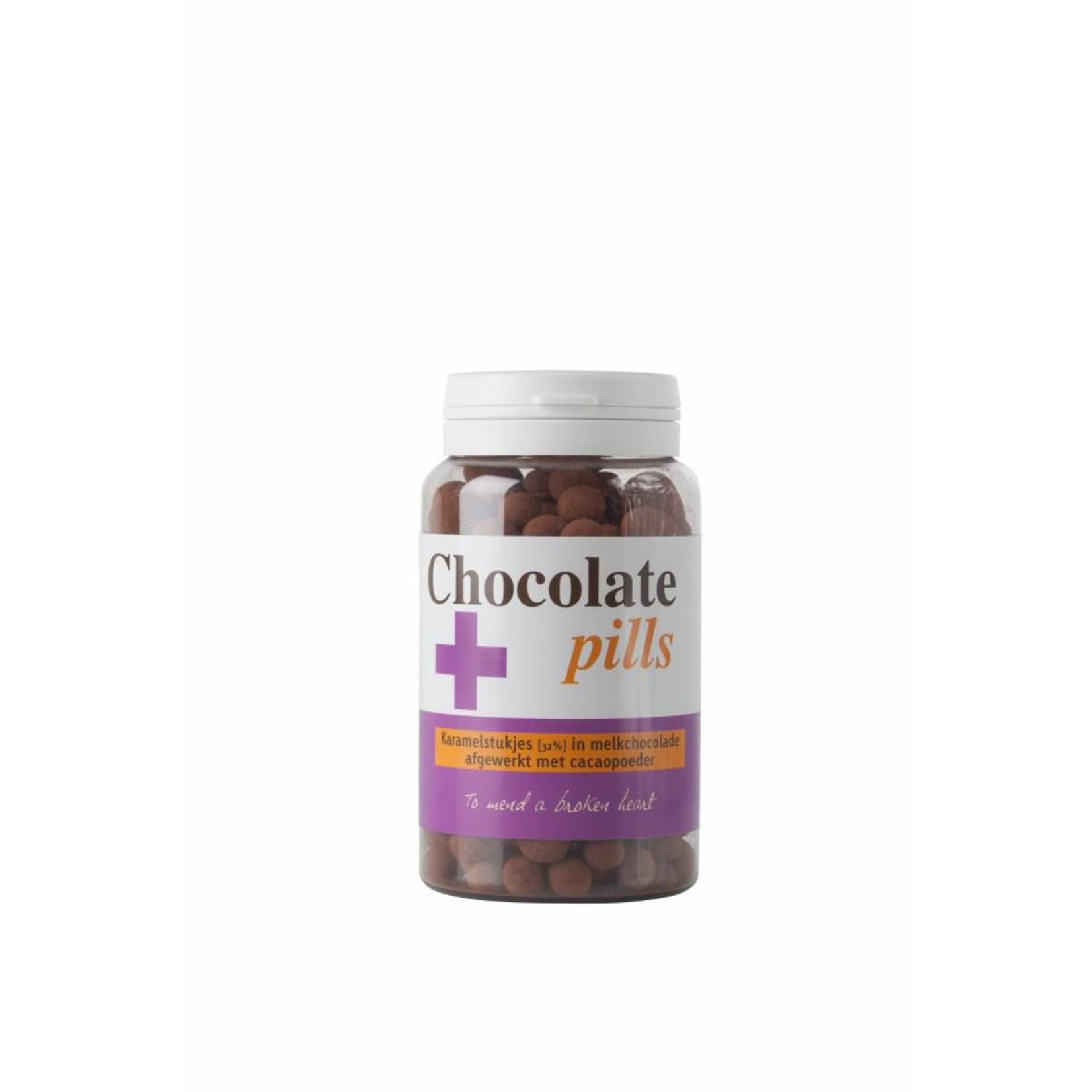 Chocoladepillen met karamel