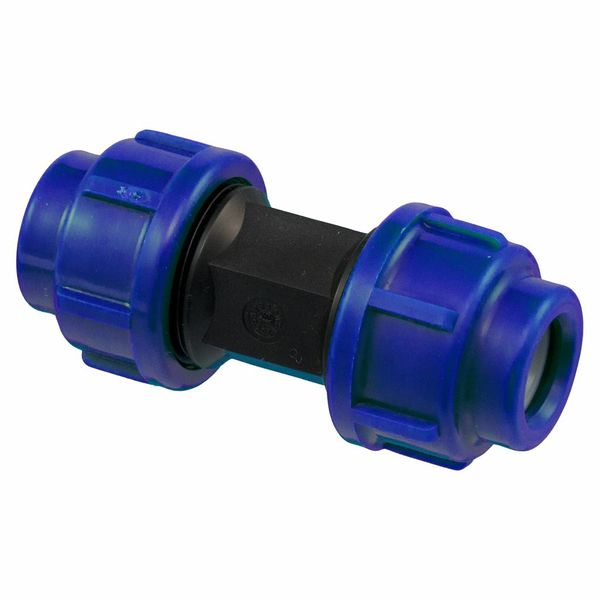 Pro-acqua Polypropyleen rechte koppeling 16 x 16 recht  /verbinder – waterleiding -pe leiding– tuin