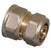 Knel kniekoppeling 26 x 26-3.0 haaks - knie / haakse koppeling – waterleiding / meerlagenbuis – CV & Sanitair - messing