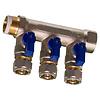 """Knel rechte koppeling 3/4""""F X 20-2.0 recht  / rechte  koppeling – waterleiding / meerlagenbuis – CV & Sanitair - messing"""