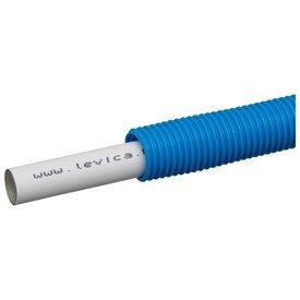Levica-Superpipe Meerlagen flexibele buis  Ø 16 - 2. mm 100meter blauw