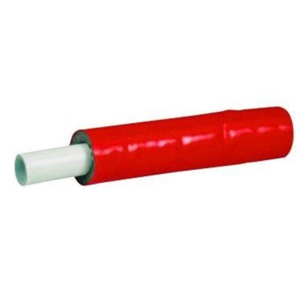 Iezy Iezy geïsoleerde flexibele  meerlagenbuis rood   Ø 16-2-10 meter