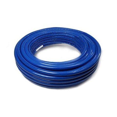 Iezy geïsoleerde meerlagenbuis ISO 6 mm blauw   Ø 20-2.0 mm-50 meter