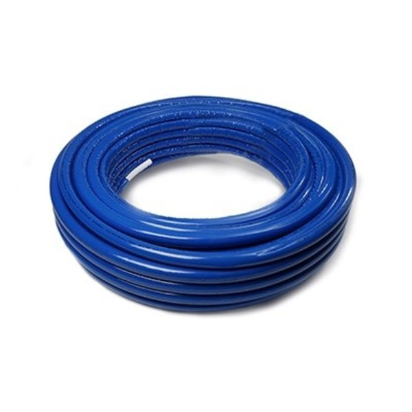 Iezy Iezy geïsoleerde flexibele  meerlagenbuis ISO 6 mm blauw  Ø  20 mm-2.0 50 meter