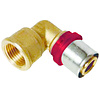 """Pers koppeling  knie   3/4""""Fx 20-2.0 / haakse koppeling  waterleiding / meerlagenbuis – CV & Sanitair - messing"""