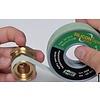 """Knel kniekoppeling 1/2""""M x 16-2.0 haaks - knie / haakse koppeling – waterleiding / meerlagenbuis – CV & Sanitair - messing"""