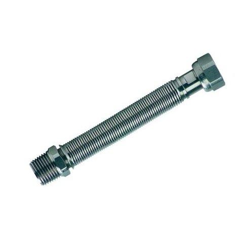 """Uitrekbare plooibare inox  flexibel 3/4""""DN20 L100  mm"""