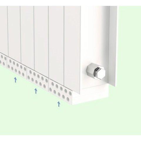Pure-Air  Dubbel  module binnenlucht zuivering  via uw radiator
