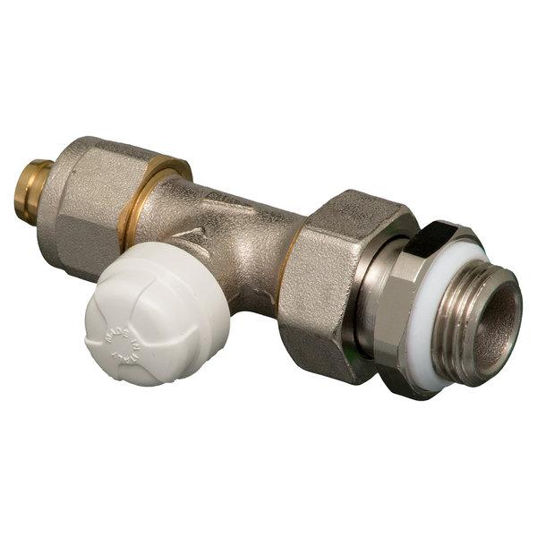 "Iezy Retourventiel  recht 1/2""M  x 16-2.0 /retour ventiel-cv installatie/CV - messing-vernikkeld"