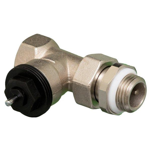 Superpipe Thermostatische rechte kraan 1/2 x -met knelstuk 15mm  met thermostatische knop M30