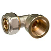 Knel rechte koppeling 26 x 26-3.0 recht  / rechte  koppeling – waterleiding / meerlagenbuis – CV & Sanitair - messing
