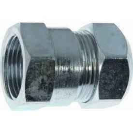 "Iezy Staal verzinkte knelkoppeling 3/4""  F x 22  mm"
