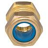 Rechte  overgang knel  staal  22 x 20-2.0  meerlagenbuis