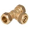 T - koppeling knel  CU 15 x meerlagen  20-2,0 x  CU 15