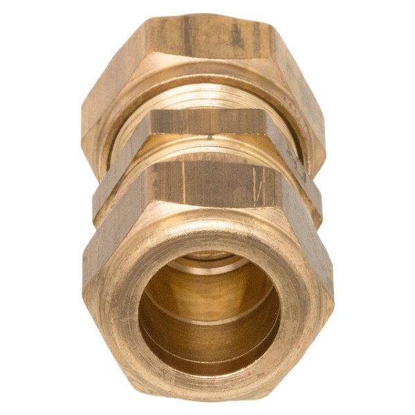 Iezy Knel rechte overgangskopeling koperCU 15x16-2 /rechte  koppeling – waterleiding / meerlagenbuis – CV & Sanitair - messing