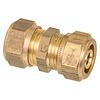 Knel rechte overgangskopeling koper CU 12x16-2 /rechte  koppeling – waterleiding / meerlagenbuis – CV & Sanitair - messing