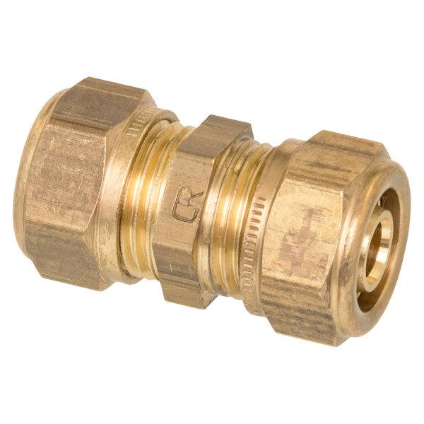 Iezy Knel rechte overgangskopeling koper CU 12x16-2 /rechte  koppeling – waterleiding / meerlagenbuis – CV & Sanitair - messing