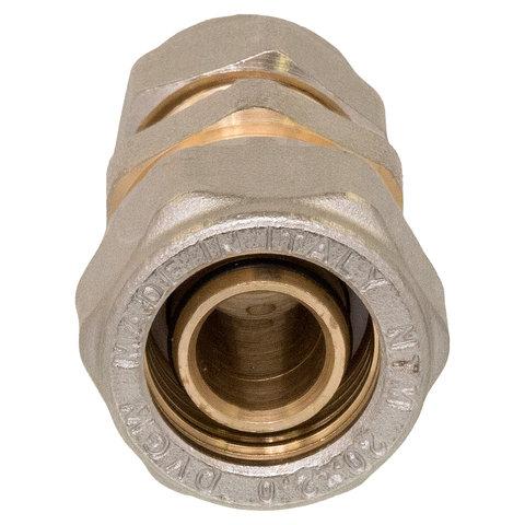 Overgangskoppeling recht  D20-2,0-koper 12 mm