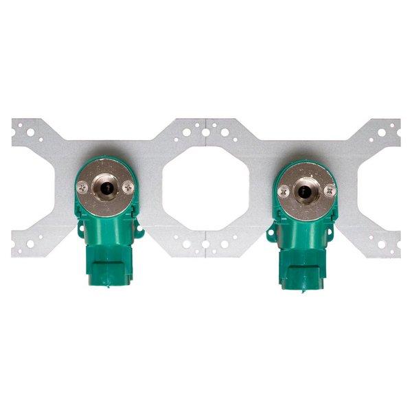 Iezy Sanitair inbouwdoos pers 1/2F  x Ø 16 mm-2.0 dubbel