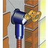 Sanitair inbouwdoos pers 1/2F  x Ø 16 mm-2.0 enkel