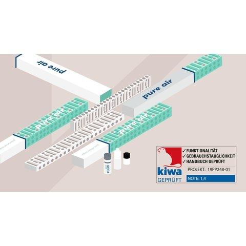 Pure-Air  Singel module binnenlucht zuivering  via uw radiator
