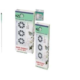 Iezy Iezy-fan radiator ventilator senior-set  inclusief adapter