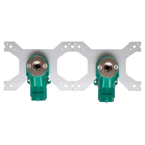 Iezy Sanitair inbouwdoos knel 1/2F  x Ø 16 mm-2.0 dubbel