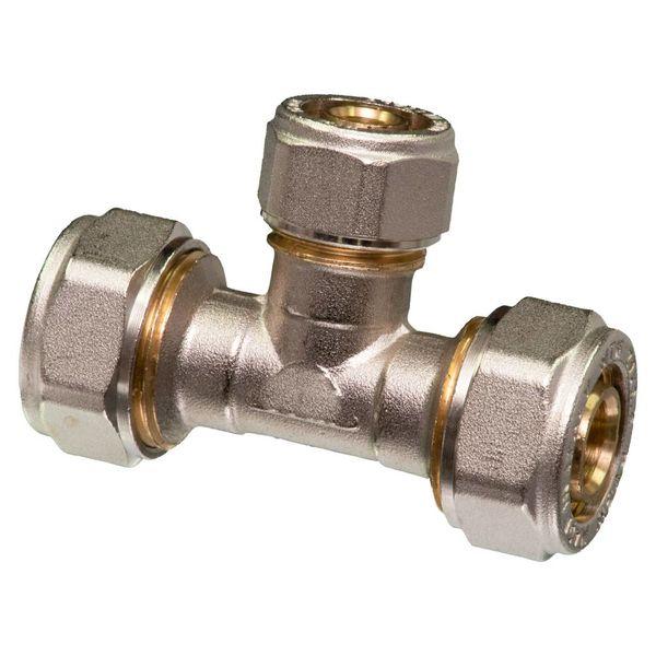 Iezy Haakse koppeling  knel 90°  CU 22 -20 -2.0