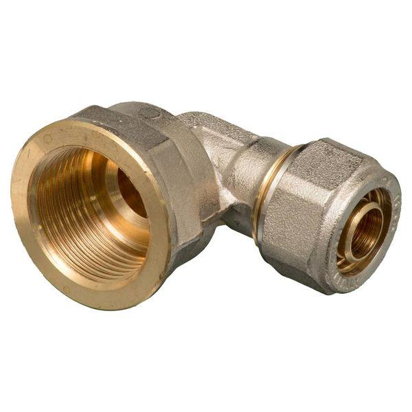 """Iezy Knel knie koppeling3/4""""M x 20 haaks  / knie  koppeling – waterleiding / meerlagenbuis – CV & Sanitair - messing"""