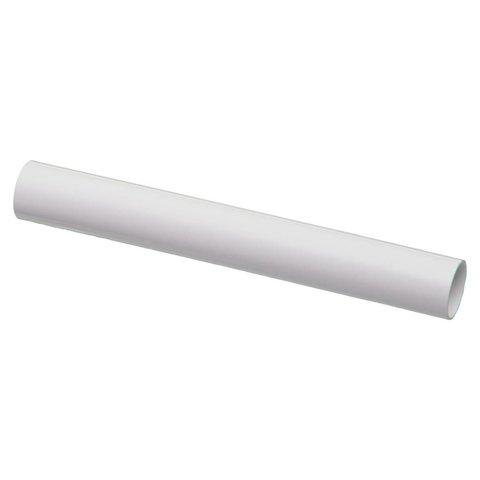 Afdekbuis wit voor radiatorbuizen Ø 21.7 mm-2stuks