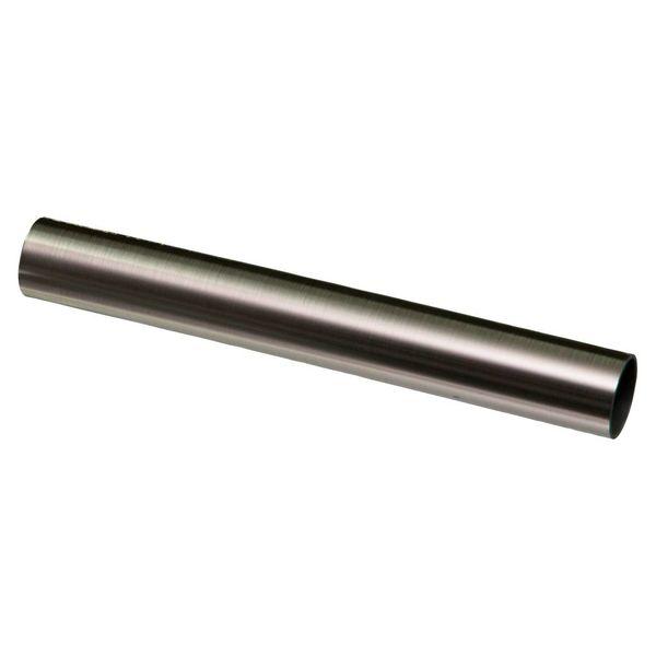 Iezy Afdekbuis inox look voor radiatorbuizen Ø 22mm-2stuks