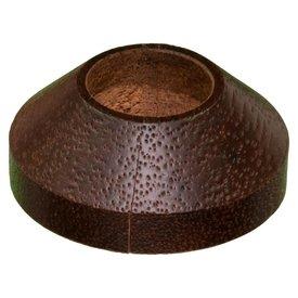 Iezy Design rozet enkel: massief merbau Ø 21.7 mm - 2stuks