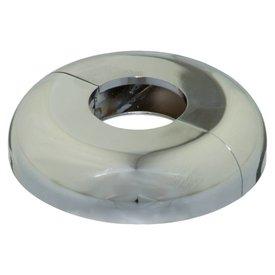 Iezy Desing rozet enkel : look chroom  Ø 21.7 mm