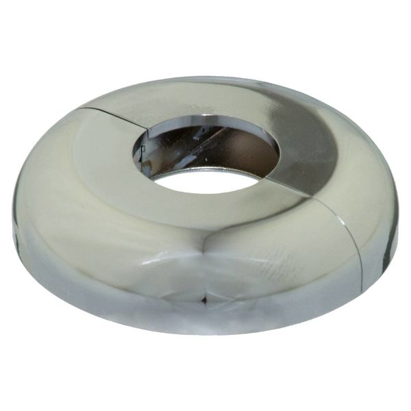 Iezy Rozet enkel : look chroom  Ø 21.7 mm
