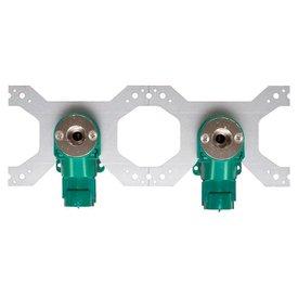 """Iezy Inbouwdoos 1/2""""binnen draad  x Ø 20 mm-2.0 dubbel (voorlopig uit voorraad)"""