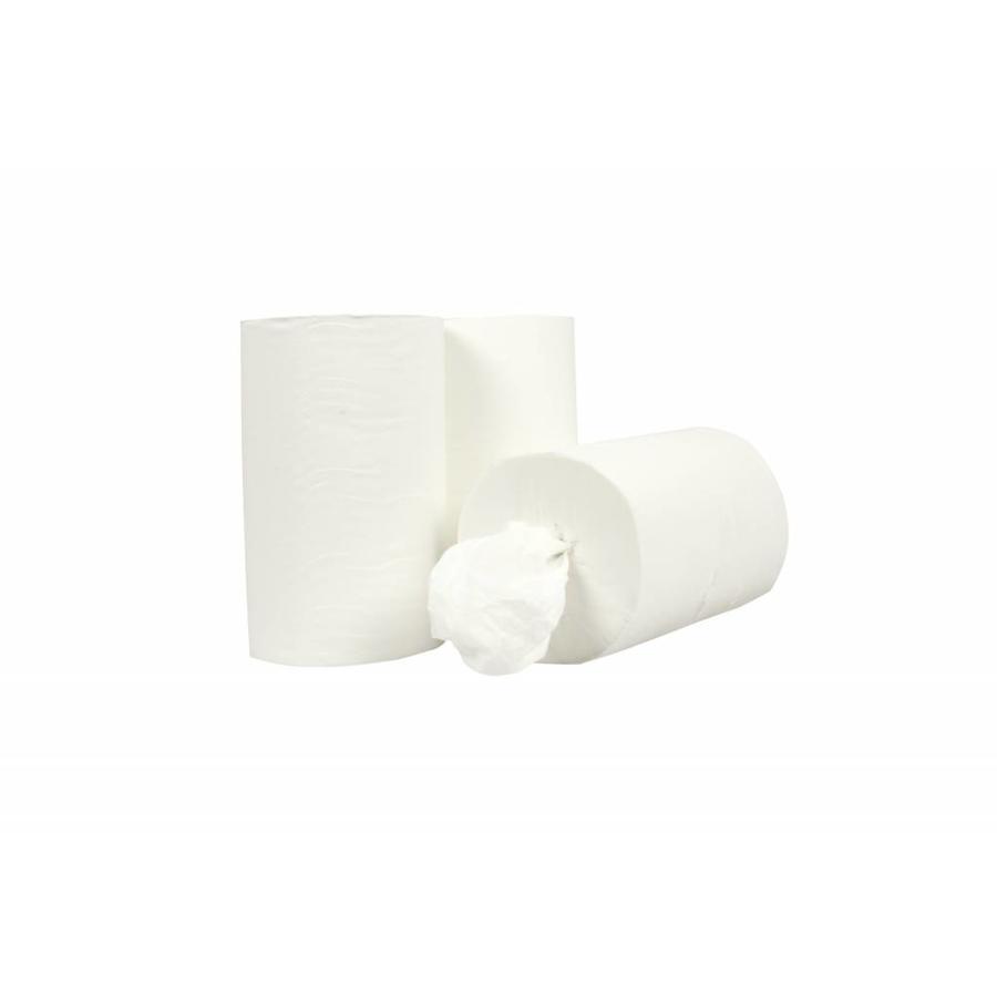 Handdoekrol Mini Coreless - 12 stuks, 1 laags, 120m