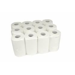 Handdoekrol Mini - 12 stuks, 1 laags, 120m