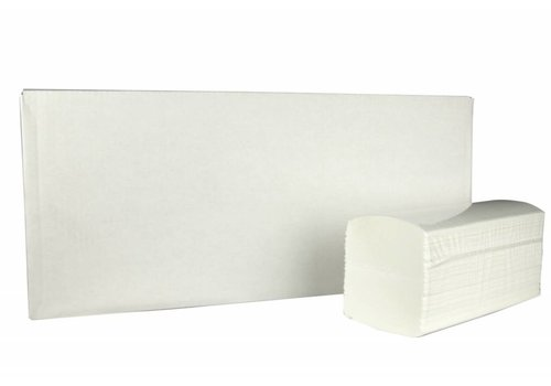 Huchem Handdoekjes Interfold - 3200 stuks, 2 laags, 32x22cm