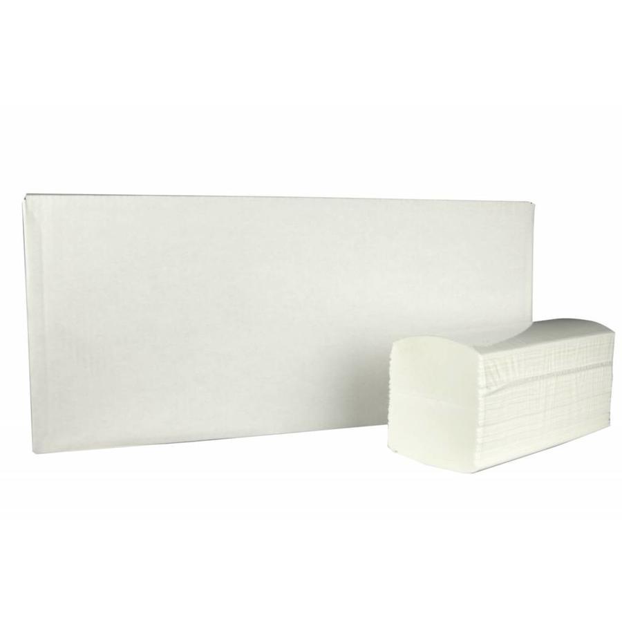 Handdoekjes Interfold - 2000 stuks, 3 laags, 42x22cm