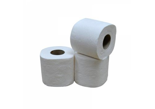 Toiletpapier Traditioneel -  12x4 rollen, 200 vellen, 2 laags