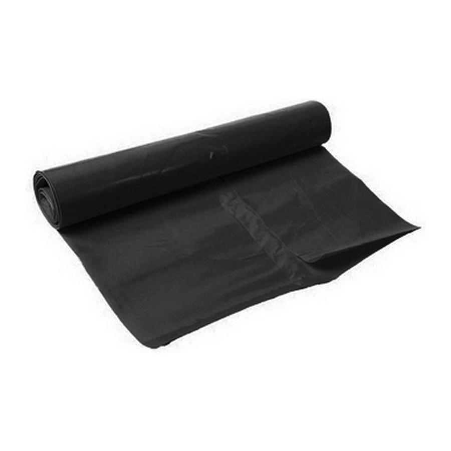 Zwarte vuilniszak - 90x125cm -  100 stuks