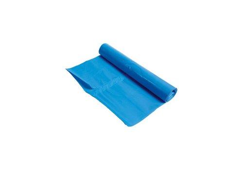 Vuilniszak 90x110cm 100 stuks blauw