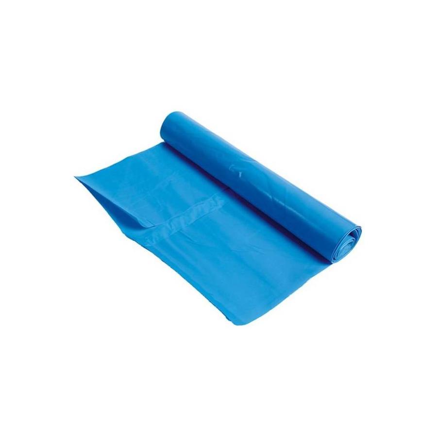 Blauwe vuilniszak - 90x110cm - 100 stuks