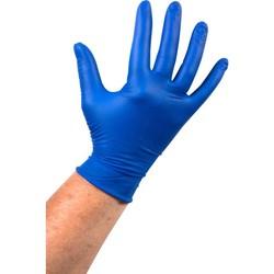 Blauwe Latex Handschoen ong. -1000 stuks