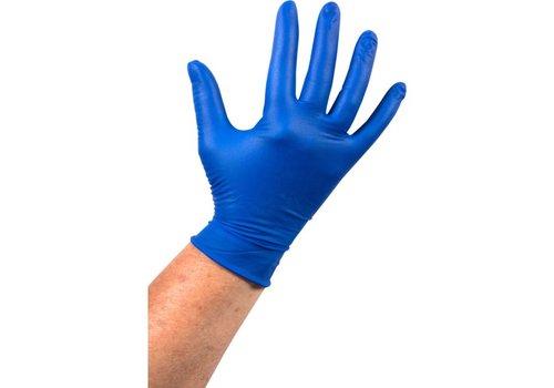 Blauwe Latex Handschoen ongepoederd - 1000 stuks