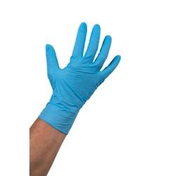 Blauwe Nitril Handschoen ong.  100 stuks